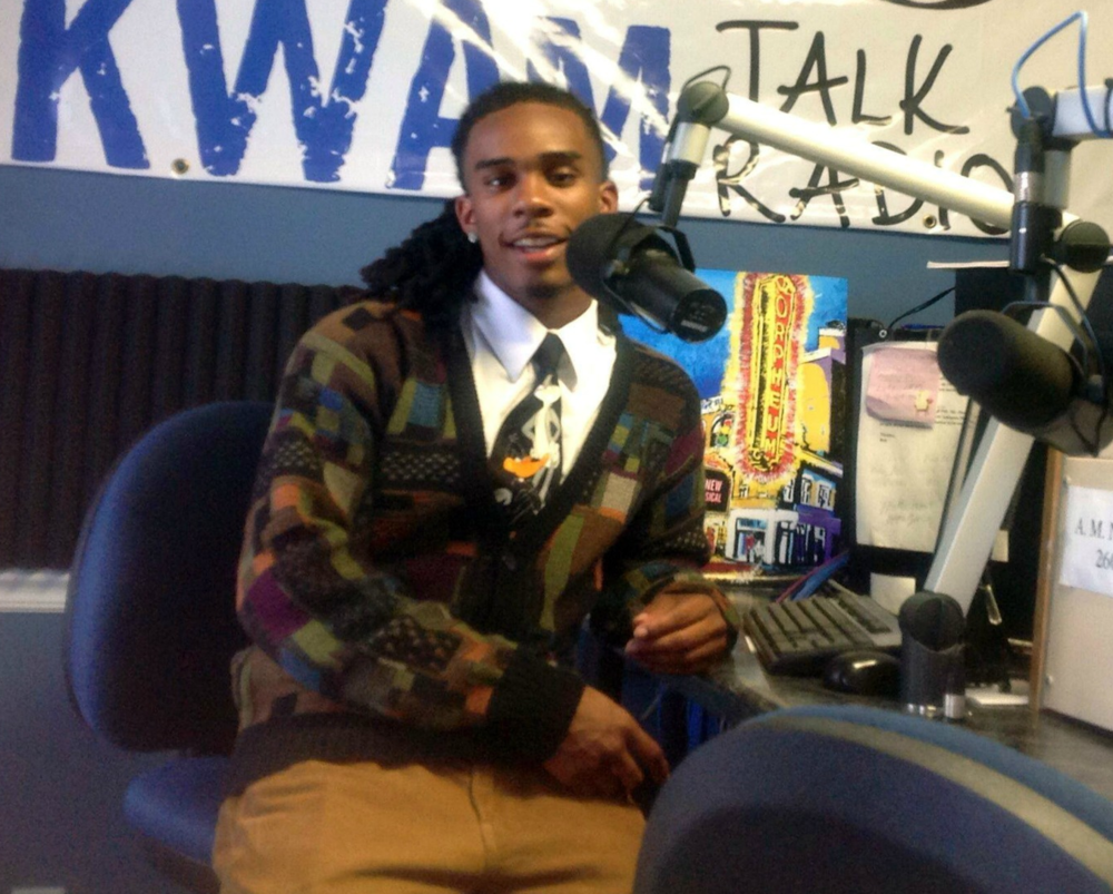"Protégé Shawn ""Da Barber"" Cannon is a student in a shadowing experience, soon to be hosting one show monthly with Dr. Kay!"