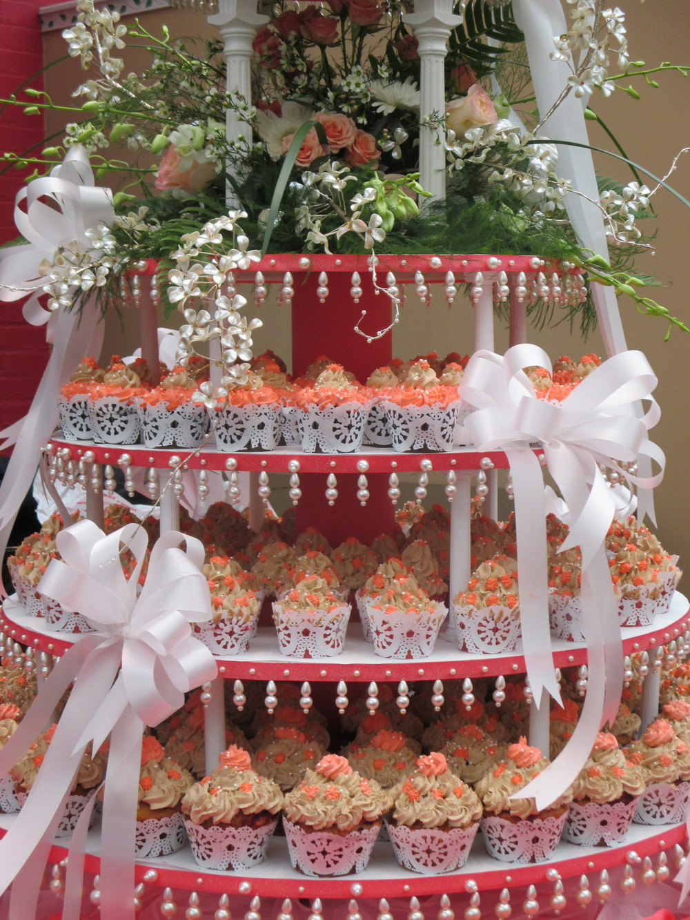 Choose florals and desserts to match your event color scheme.