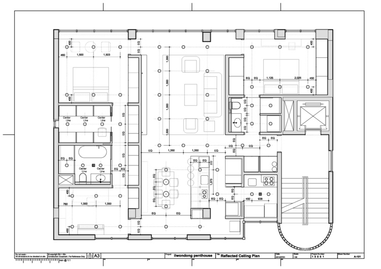 residential renovation  architecture work office, wiring diagram