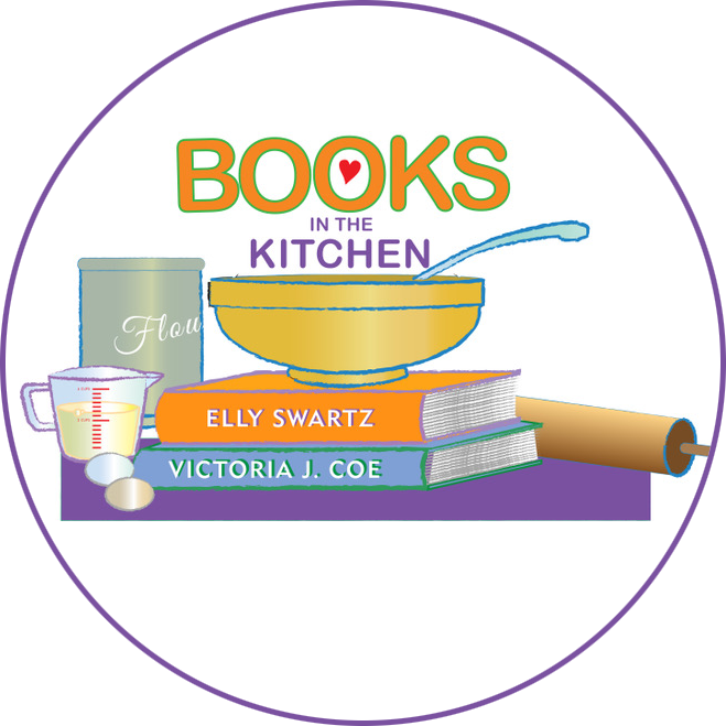 "Do you like books? Do you like treats? - Introducing BOOKS IN THE KITCHEN, a brand-new web series from children's authors Elly Swartz & Victoria J. Coe. Watch us whip up treats inspired by our books as we dish about our characters, share secrets, and have way too much fun. There's no such thing as ""too many books in the kitchen."" So be sure to subscribe and share on your favorite social media using #booksinthekitchen!"