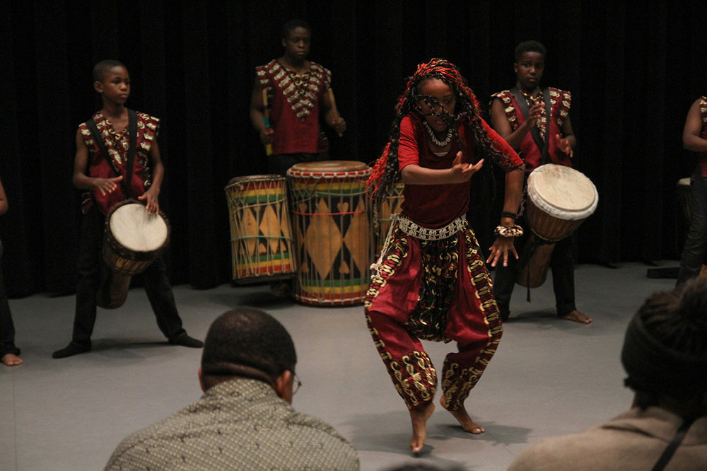 2015 IN-STUDIO PRESENTATION FEATURING ngoma ensemble. PHOTOGRAPHER CHRISTOPHER CUSHMAN