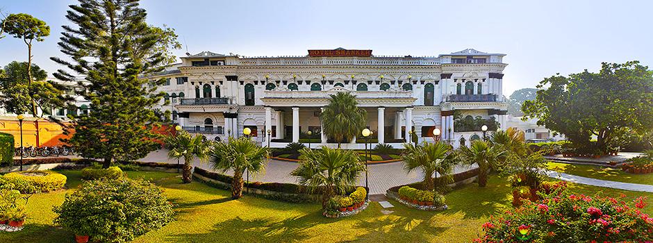Facade, Hotel Shanker, Kathmandu, Nepal