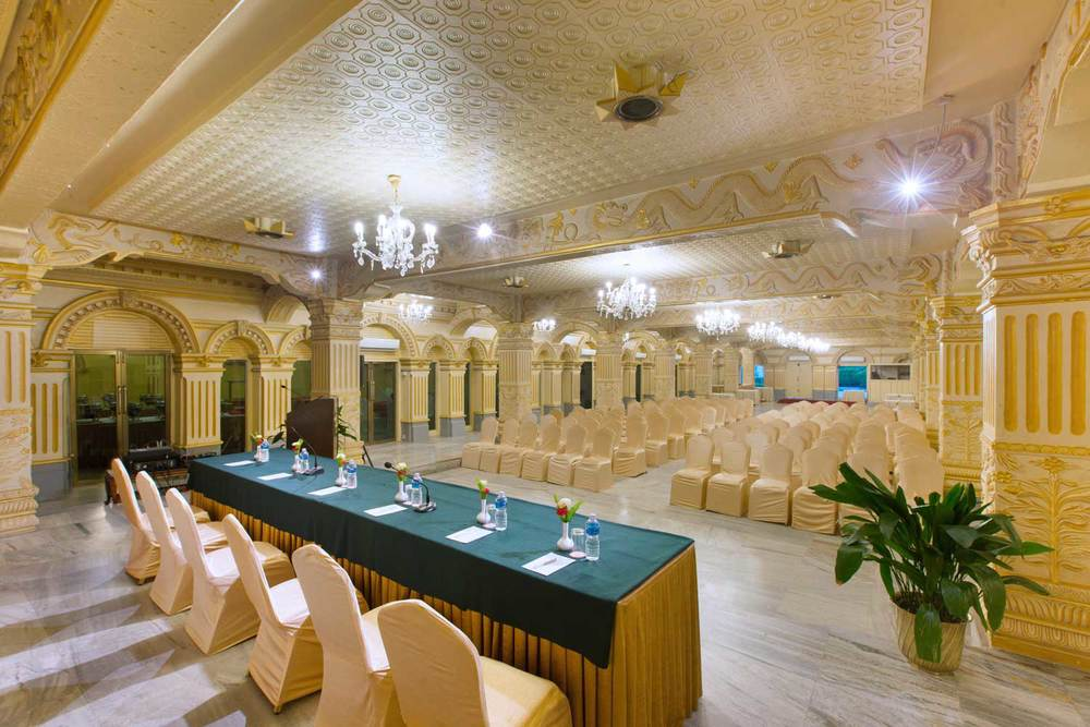 Kailash Hall, Theatre Style -- Hotel Shanker, Kathmandu, Nepal