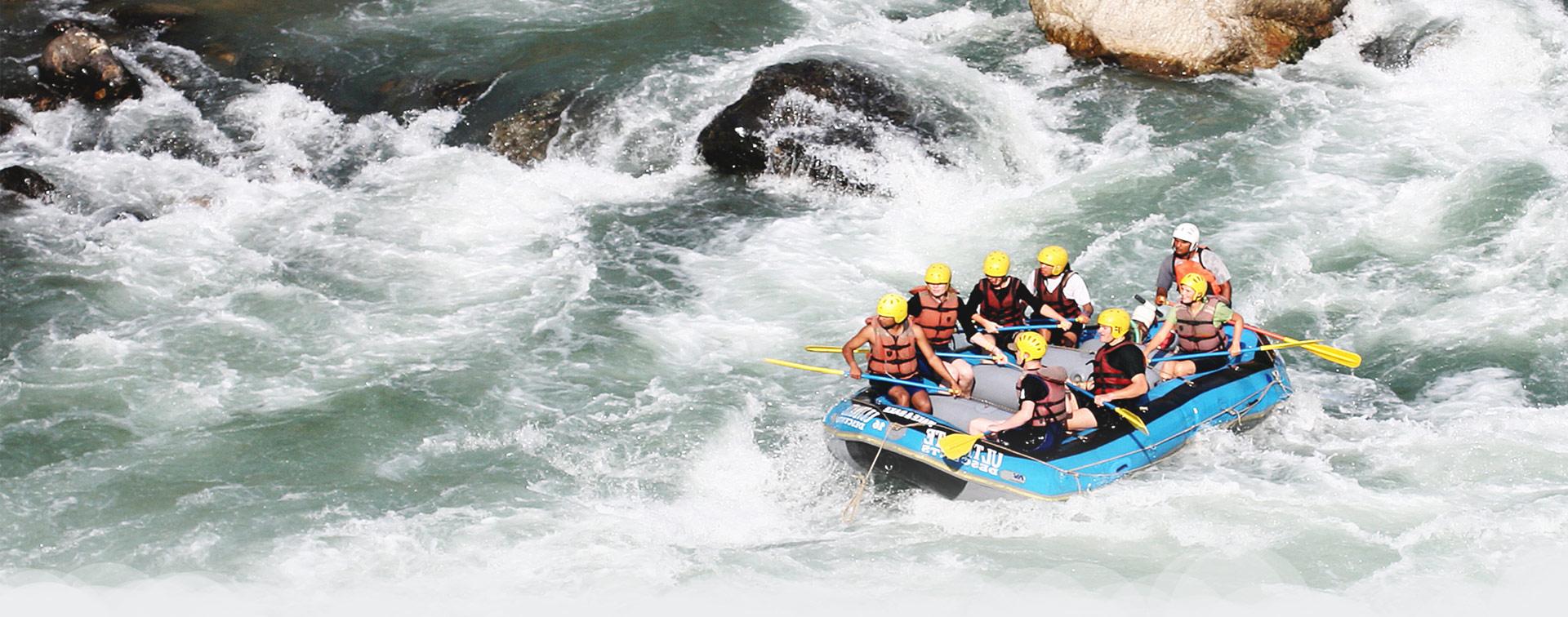 Rafting en Nepal - Nepal Rafting, Aventura Rafting Nepal, rafting y kayak viajes en Nepal en