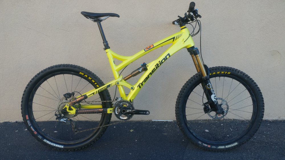 2014 Transition Covert 26 Pro Shimano XT/XTR $3,000
