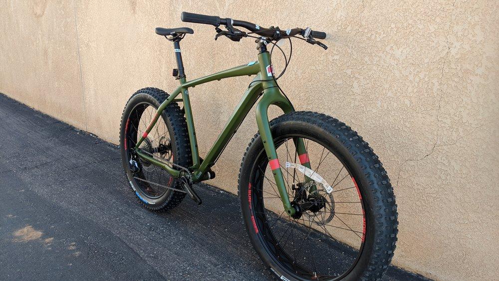 Jamis Roughneck Green -