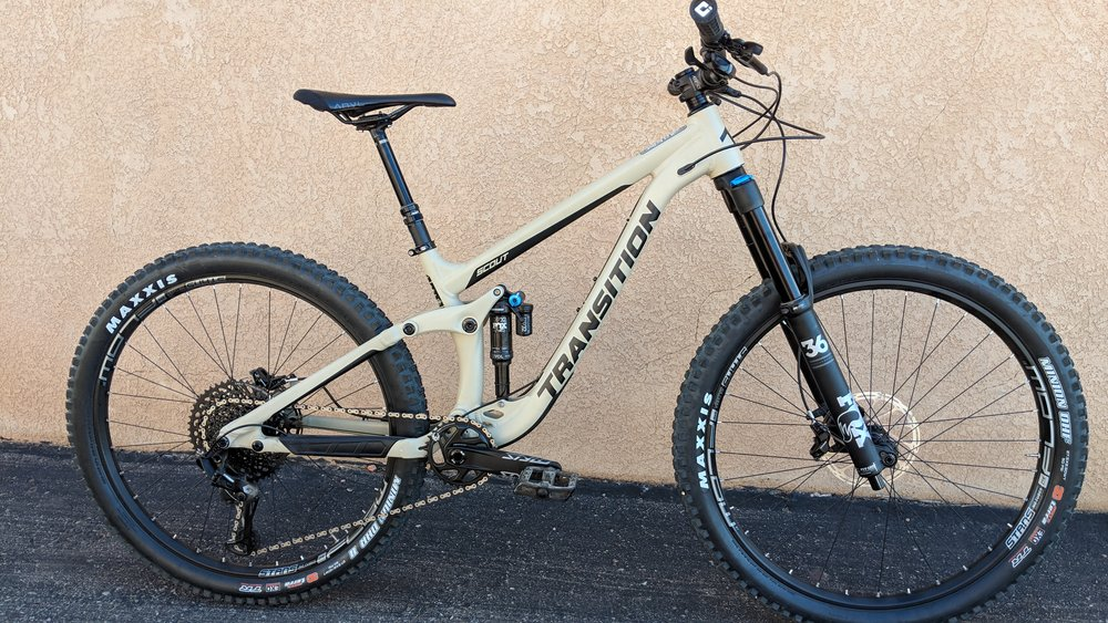 Transition Scout GX Alloy Tan -