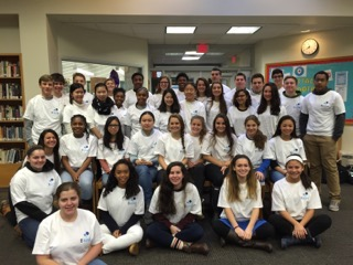 CELEBRATED WORLD KINDNESS DAY AT AN UPPER SCHOOL ASSEMBLY. THEN THEY HAD A PROGRAM FOR THE LOWER SCHOOL MENTORS; SOPHOMORE AND JUNIORS WHO WORK WITH THE LOWER SCHOOL CHILDREN. B KIND CLUBS ARE BEING ESTABLISHED ACROSS THE COUNTRY! CHECK OUT OUR SCHOOL CLUBS PAGE AND START A CLUB AT YOUR SCHOOL! JOIN THE B KIND MOVEMENT.