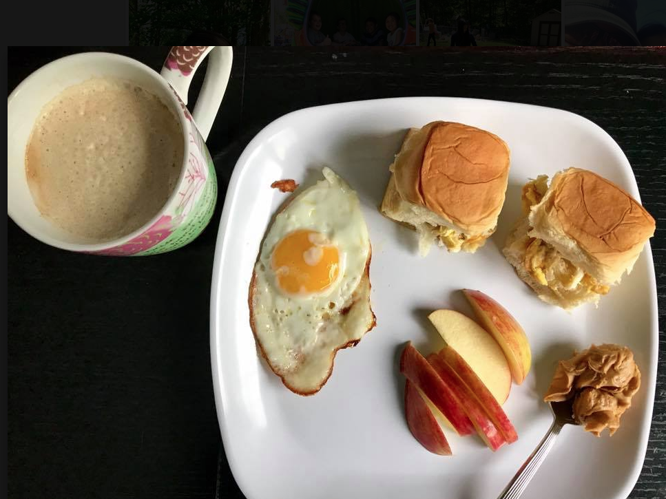 Mother's Day breakfast last year made by my kids.