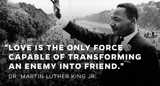 This ❤️. Remembering the words of a great man. #bkindtoday #martinlutherking