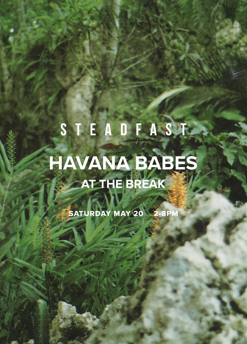 - Join us for a raucous day celebrating Cuban culture with Steadfast Magazine in honor of their third issue. Bottomless drinks, the best cuban music, a curated selection of inspired vintage, and a window installation by Andrea Smith.