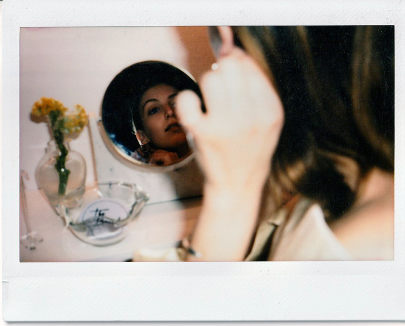The Break Vintage Andrea Smith Illustrator Brooklyn Polaroid
