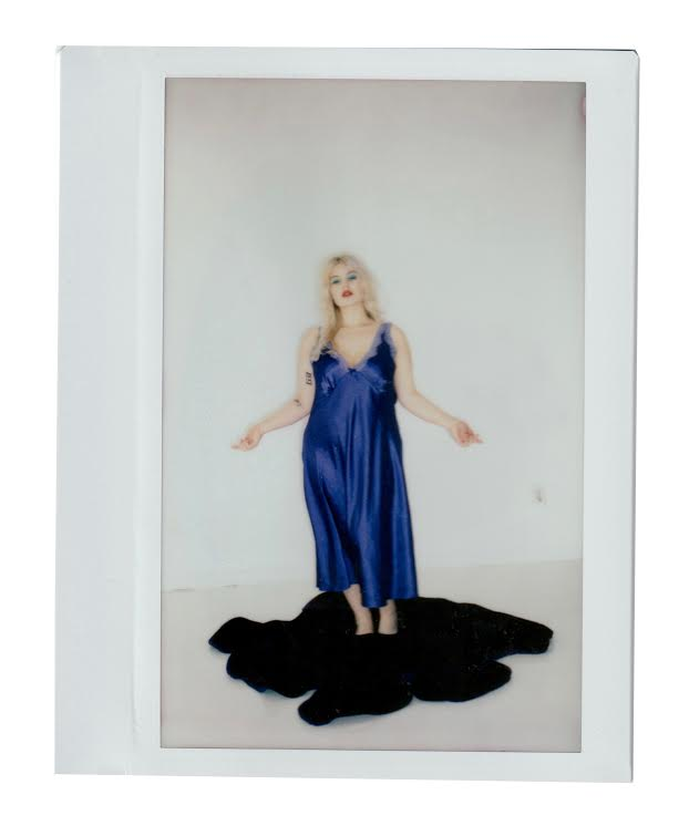 The Break Vintage Behind the Scenes Lulu Bonfils Brooklyn Polaroid