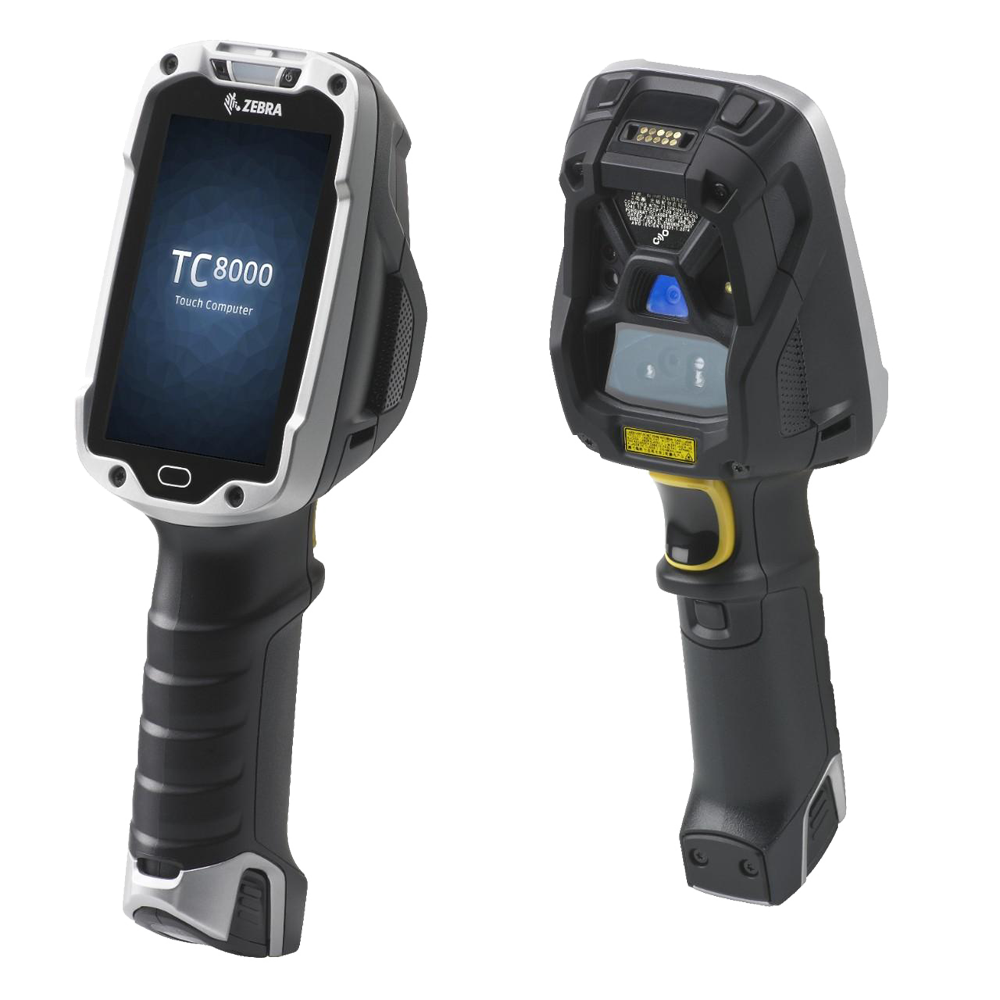 Rugged Mobile Computers & Scanners Zebra TC8300 TC8000