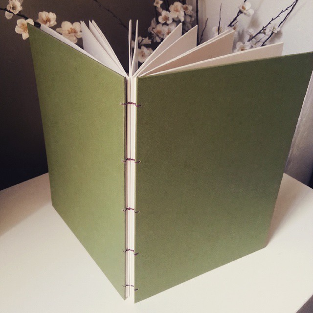 There are few things more satisfying than a handmade sketchbook (if you're into that kind of thing of course)