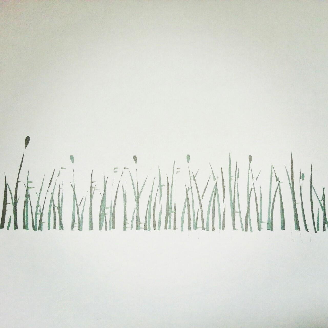 Printing grasses.