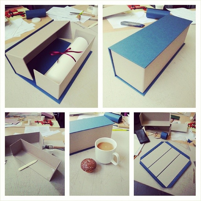 Day 3 - Scroll box…. (and chocolate cupcakes) (at UWE Bower Ashton Campus)