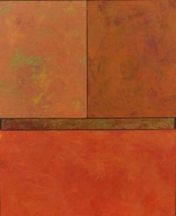 "Autumn  Oil & Wax, 12"" x 16"", 2012  Sold"