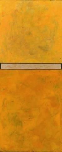 """Sunburst  Oil & Wax, 6"""" x 15"""", 2011  Sold"""