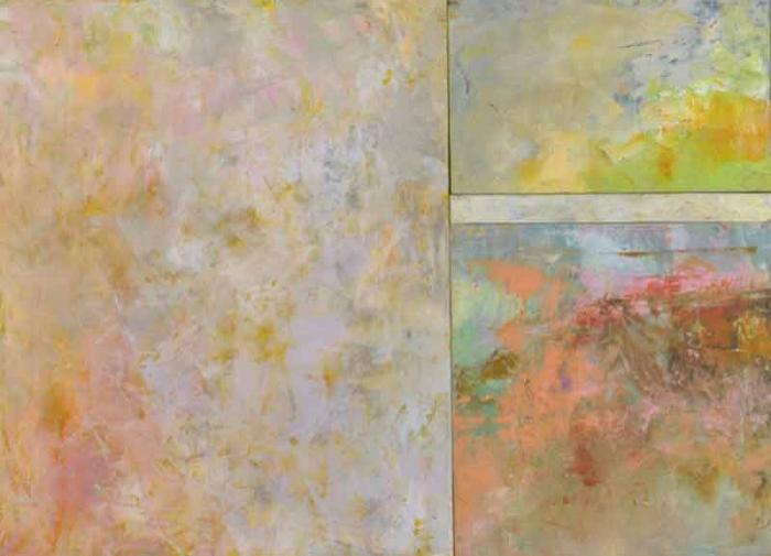 "Springtime  Oil & Wax, 20"" x 28"", 2012  Sold"