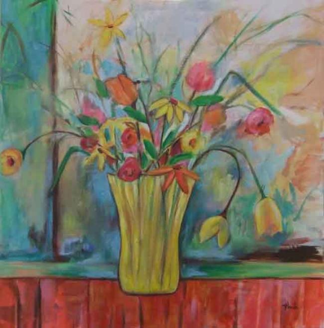 Flowers Lauren Thuli Art
