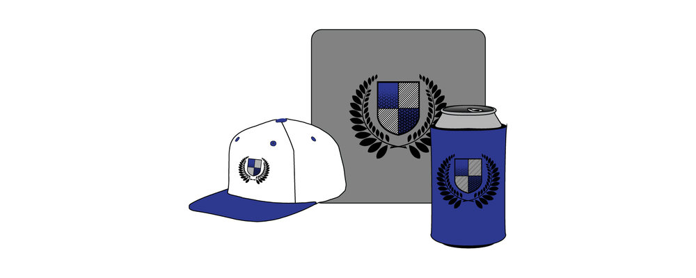 Accessories  - All things other than apparel. Hats, Mousepad, drink koozies, etc. Click Here