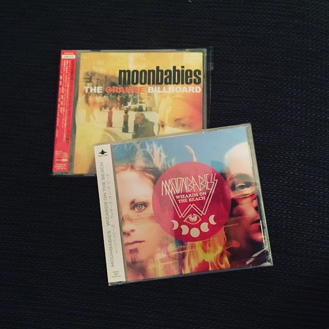 "Nice Japanese-pressings (with bonus tracks) of ""The Orange Billboard"" and ""Wizards on the Beach"" 🇯🇵 #moonbabies #dreampop #sweden #cd #indie #photography  #electronica #dance #inlove #glitch  #europe  #life #design #shoegaze #music #vintage #etherealwave #indiepop #songwriter #bands #record #lovemusic #33rpm #bonobo #fourtet #caribou #nowspinning"