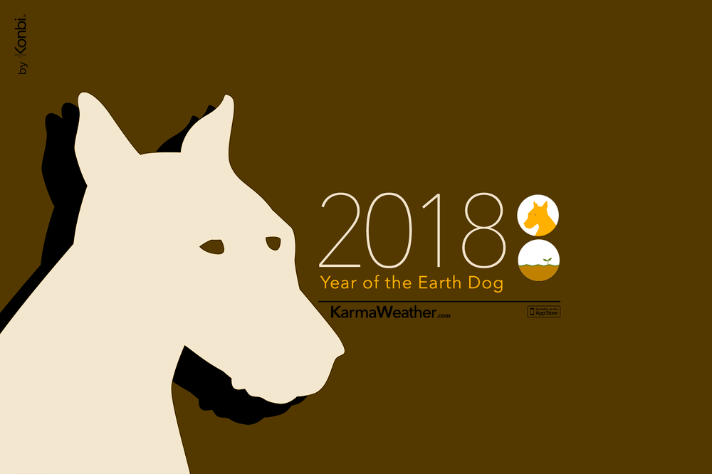 Horoscope for Dogs for 2018: woman and man 55