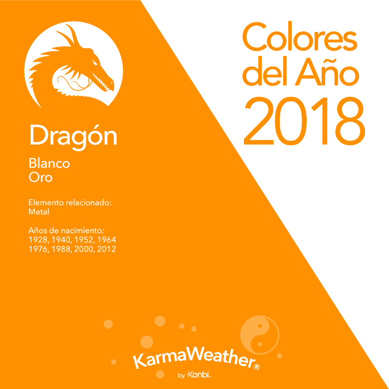 Dragón color 2018