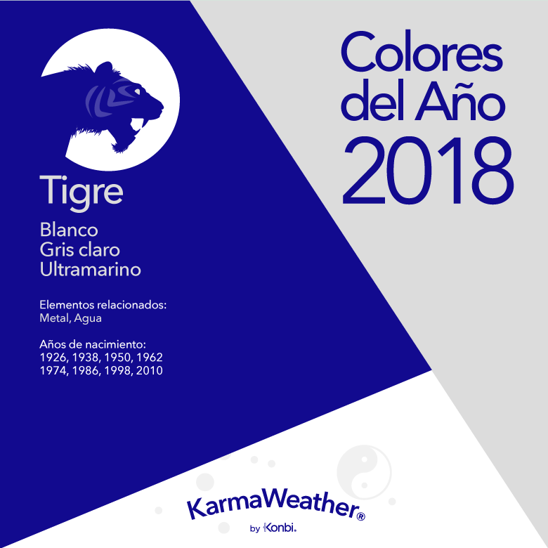 Tigre color 2018