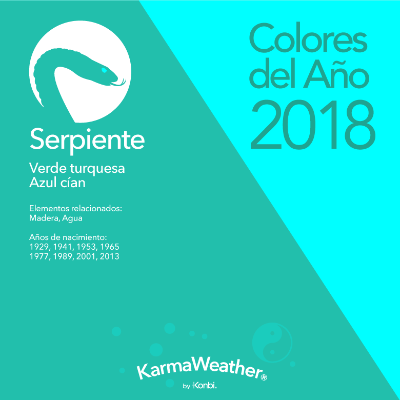 Serpiente color 2018