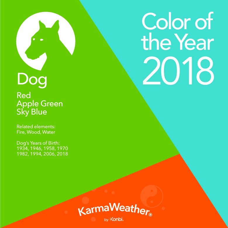 Dog Colors 2018