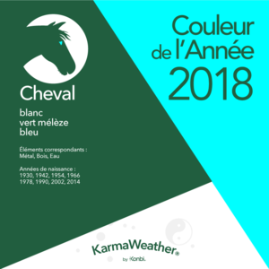 Le Cheval - Page 2 Cheval-2018-couleur-annee-feng-shui-blanc-vert-meleze-bleu-karmaweather