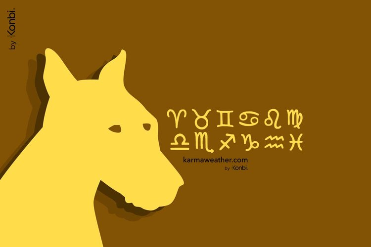 Dog: Combined horoscope with the 12 western zodiac signs