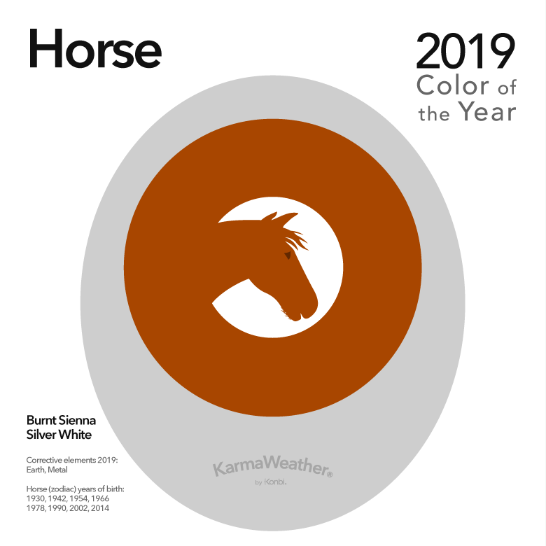 Image result for color of the year 2019 horse karmaweather