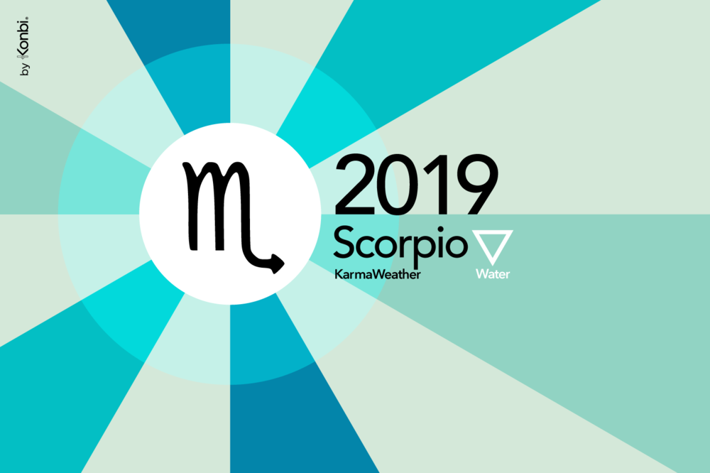 The moon is in Scorpio today.