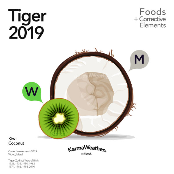 Tiger 2019 Lucky Food
