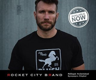 New designs. Old favorites. Available now. #rocketcitybrand #helloagain #greenpeapress #huntsville