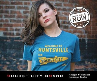Hello, Huntsville! We restocked your favorite Rocket City USA designs in time for the holidays. Available online and @greenpeapress in the Pea Pod, Studio 111 @lowemillarts