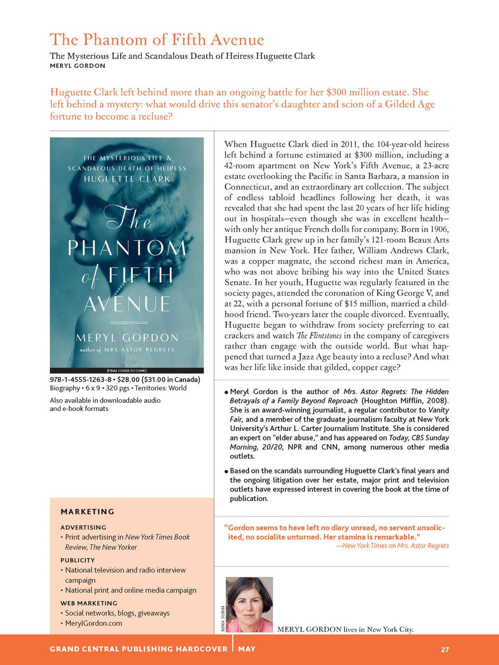 Phantom catalog page