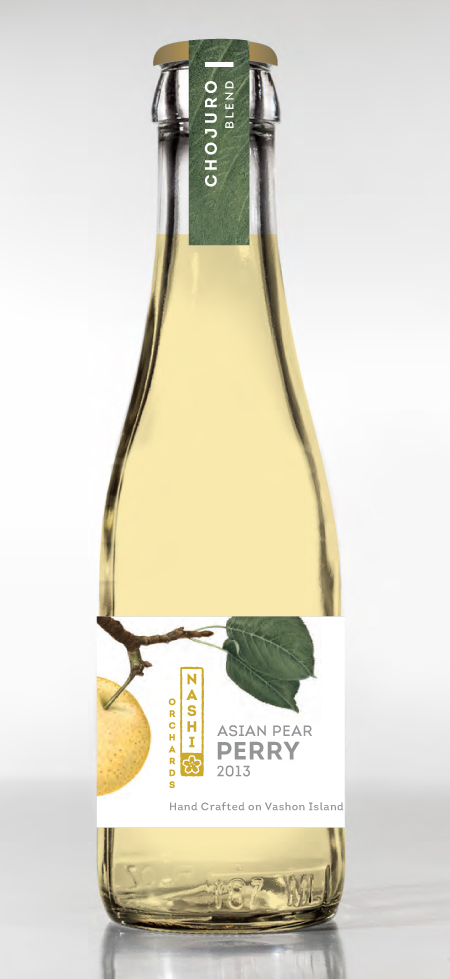 Our signature  Chojuro Blend  is   lightly  effervescent    with a floral aroma, exhibits flavors of bright summer fruit and pear, and it has a clean refreshing finish. Serve it as an    aperitif    or with NW oysters, halibut, and turkey.