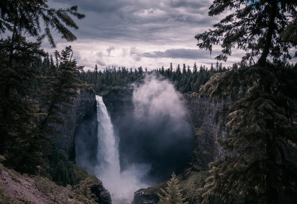 Location: Helmcken Falls, BC