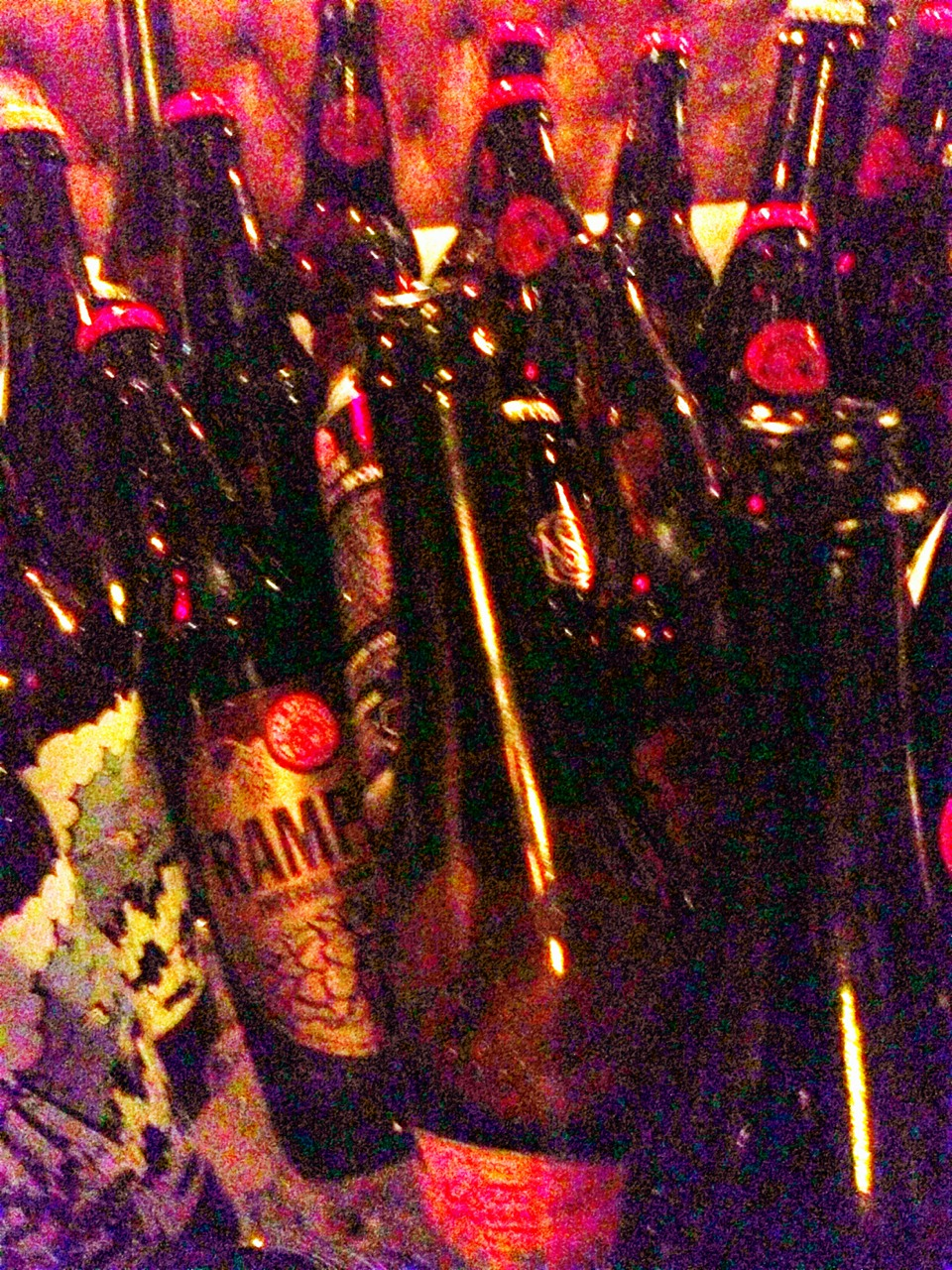 130328, attending private New Belgium brewery party last night <=> struggling to get moving this morning.