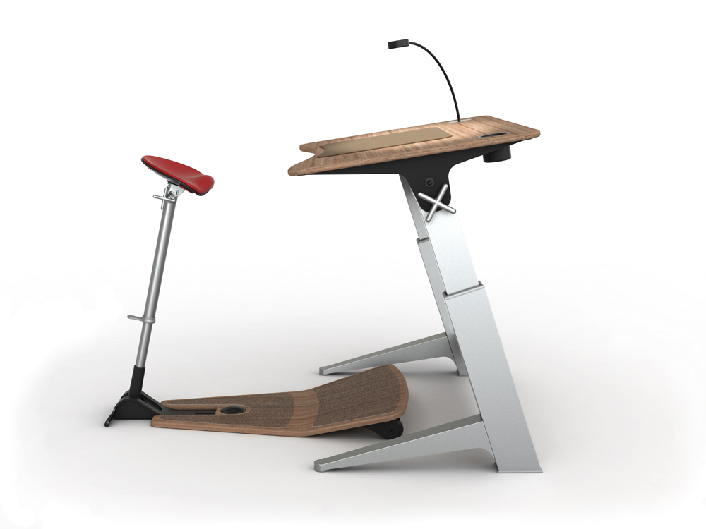 This  Focal Upright Desk  is definitely at the top of my wish list.
