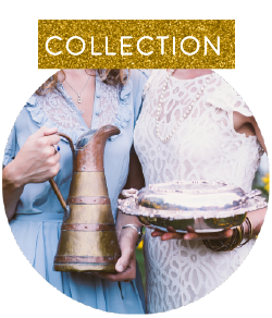We rent beautiful items that we've curated over time from our McPherson Collection.  See what's available to make your day that much more special.