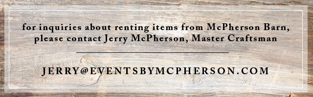 McPherson Events & Design | www.eventsbymcpherson.com