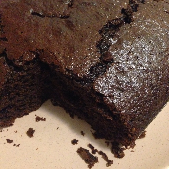 Ginger Cake with Coconut Oil
