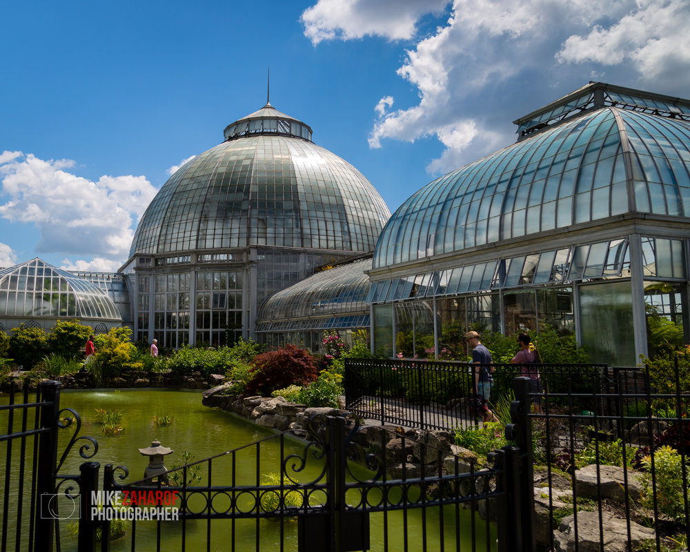The Anna Scripps Whitcomb Conservatory on Belle Isle