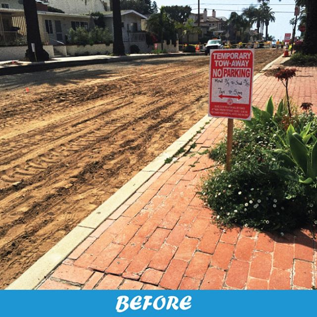 In 2014 Onward Engineering was proud to design 350ft of street section and introduce a new landscape parkway on streets near PCH for the City of Newport Beach. #onwardthrowback #cityofnewport #residentialroad