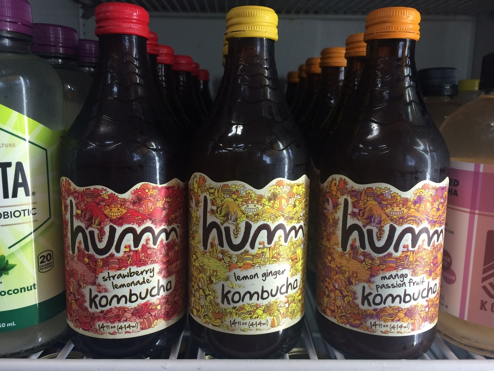 Humm Kombucha at Sunshine Market in Salida, Colorado.